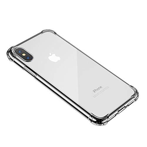 Preisvergleich Produktbild Hexcbay Kompatibel mit iPhone X Hülle,  Handyhülle Crystal SchutzhülleSilikon Hülle Ultra Dünn Bumper Case Anti-Scratch Stoßfest Soft Hülle für Case Cover,  (iPhone XR,  transparent)