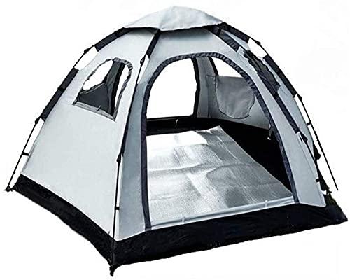 Ankon Tiendas de campaña para camping tienda de campaña al aire libre Apertura automática automática 3-4 personas Familia 5-8 personas Conjunto de ultravietud de múltiples personas Campaña Camping par