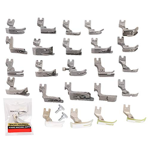 Redxiao 【 】 Prensatelas universales para máquina de Coser, Juego de prensatelas, Juego de prensatelas, para máquina de Coser Industrial