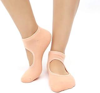 Calcetines de yoga para mujer, antideslizantes, para pilates, yoga, fitness, danza, ballet, barre, calcetines deportivos para mujeres y niñas