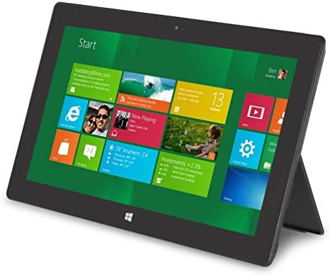 Microsoft 4384645 Surface Pro-2 Tablet, Titanium, 10.6' FHD