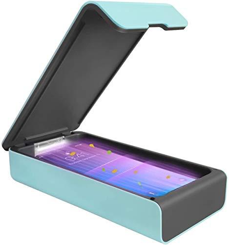 UV Sterilisator,tragbare Aroma-UV Sterilisator LED-Box Schnelle Sterilisation 99,9%,Handy-Reiniger Ultraviolett Geeignet für Handys, Brillen, Ästhetik, Schönheitswerkzeuge und Körperpflege usw