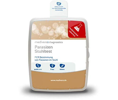 Medivere Parasiten Test - Darmcheck Labordiagnostik PCR Bestimmung