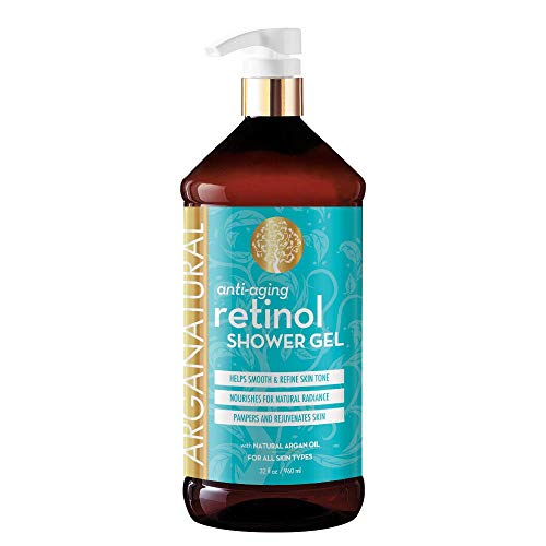 41f xTRsL0L. SL500  - Arganatural Bundle Pack with Tightening Body Lotion and Anti-Aging Retinol Shower Gel (32 Ounces/960 Milliliters)