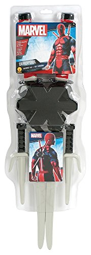 Rubie's Men's Marvel Classic Deadpool Weapon Costume Accessory Kit, Multi, One Size