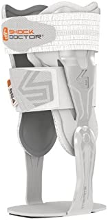 Shock Doctor V-Flex Ankle Brace. Rigid Fiber Reinforced Stabilizer Hinge. Protection, Support, Recovery from Injuries, Spr...