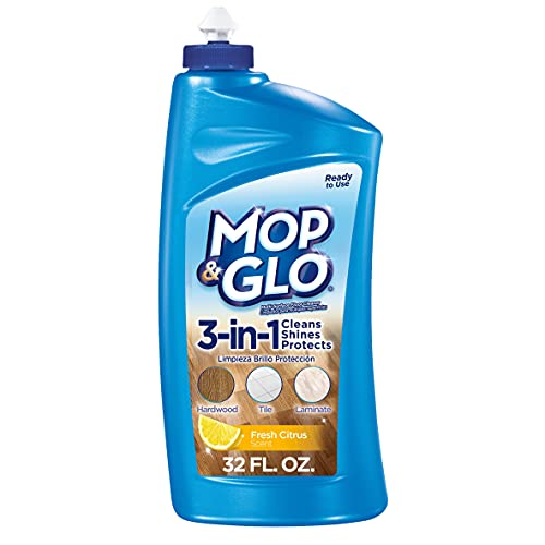 floor shines Mop & Glo Multi-Surface Floor Cleaner, 32 Ounce (Pack of 3)