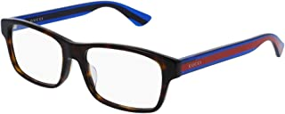Eyeglasses Gucci GG 0006 OA Rectangular Eyeglasses Asian Fit