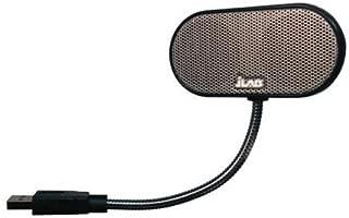 JLab USB Laptop Speakers - Portable, Compact, Travel Notebook Speaker for Windows PC and Mac - B-Flex Hi-Fi Stereo USB Laptop Speaker - Black
