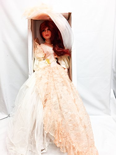 Show Stoppers 28' My Fair Lady Porcelain Doll in Peach