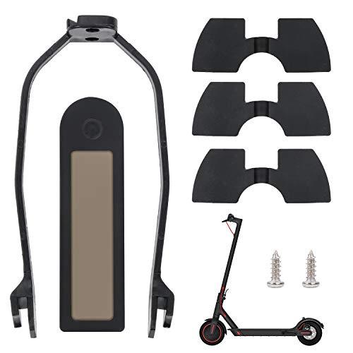 Coolty 5 Stück Scooter Ersatzteil Zubehör - Hintere Kotflügel Halterung, Schutzblech Halterung, wasserdichte Silikon-Abdeckung und 3 Vibrationsdämpfer aus Gummi für Xiaomi M365/M365 Pro Scooter