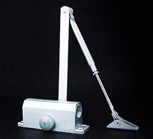 Automatische deurdranger, kleine huishoudelijke hydraulische buffer deur dichter 90 graden positionering branddeur mute automatische deurdranger Lading lager 45kg