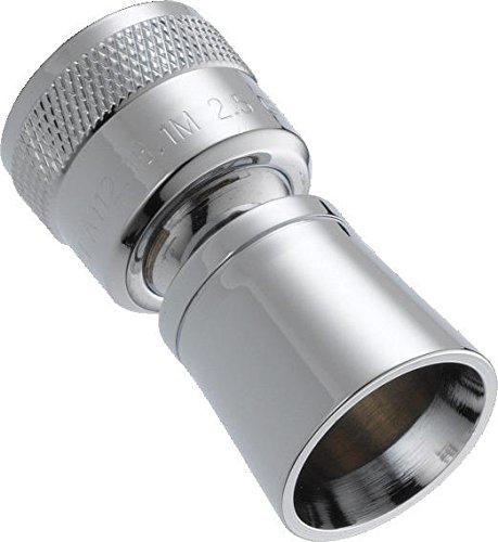 Delta Faucet Single-Spray Shower Head, Chrome 52654-PK
