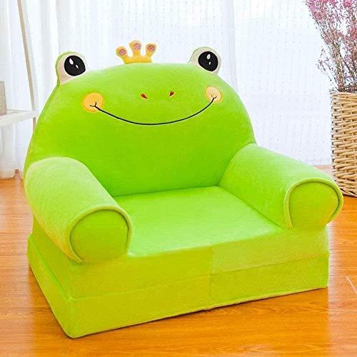 Sofá para niños con dibujos animados, sillón infantil Sofá de niños para niños, sofá para niños, sillón de niños, regalos de cumpleaños para niñas y niños juguetes perezosos tapizados lindos bebé sofá