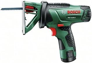 Bosch Home and Garden 0603011003 Sierra de calar de batería de Litio, 10.8 W, 10.8 V