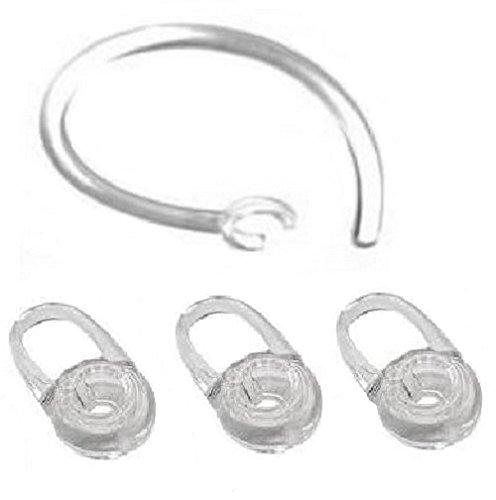 3 Ersatz-Ohr-Gel und 1 Ohrbügel Für Plantronics M70, M90, Voyager Edge