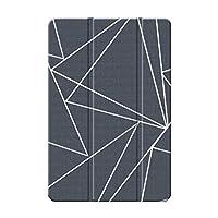 Sepikey iPad Air 1/iPad Air ケース,三つ折タイプ アンチダスト 耐落下性 指紋防止 PUレザー+ PC 三段角度調節 背面シェルケース iPad Air 1/iPad Air Case-ダイヤモンド21