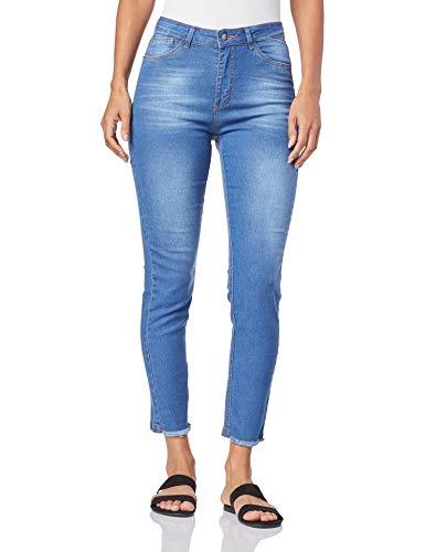 Calça Básica, Mercatto, Feminino, Jeans, 38