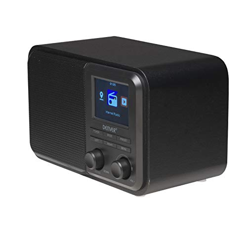 Denver Internet Radio with Wi-Fi Connection, Black