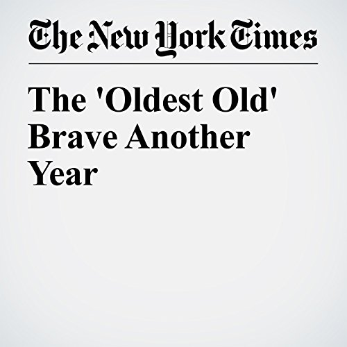 The 'Oldest Old' Brave Another Year copertina