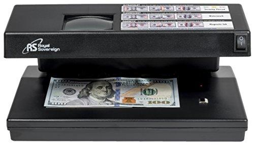 Royal Sovereign Four-Way Countertop Counterfeit Detector (RCD-2000),Grey
