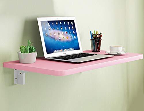 YO-TOKU Mesa de comedor plegable de madera maciza para niños, color rosa, 15 tamaños