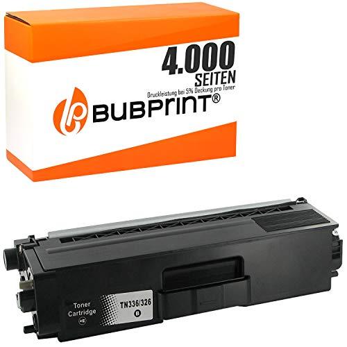 Bubprint Toner kompatibel für Brother TN-326 TN-326BK für DCP-L8400CDN DCP-L8450CDW HL-L8250CDN HL-L8350 HL-L8350CDW MFC-L8650CDW MFC-L8850CDW Schwarz