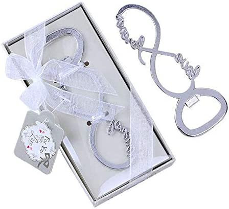 Yuokwer 40 PCS At trust the price of surprise Love Forever Beer Party Opener Wedding for Bottle