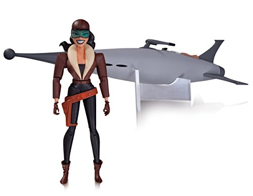 DC Collectibles Figurine du Personnage animé Roxy Rocket de la série Batman