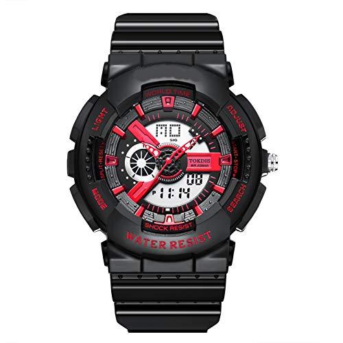 Adolescente multifuncional impermeable reloj chicas estudiantes de secundaria estudios al aire libre relojes electrónicos lindo relojes deportivos diosa reloj deportivo multifuncional ( Color : I )