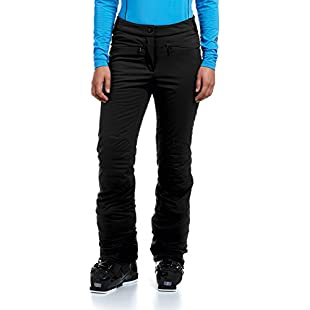 maier sports Helene Women's Softshell Ski Trousers, Womens, Softshell Skihose Helene, Black