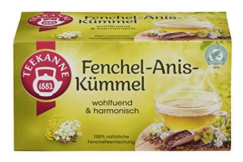 Teekanne Fenchel-Anis-Kümmel 20 Beutel, 4er Pack (4 x 60 g Packung)