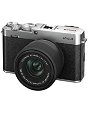 富士フイルム ミラーレスデジタルカメラ FUJIFILM X-E4 レンズキット シルバー (XC15-45) F X-E4LK-1545-S