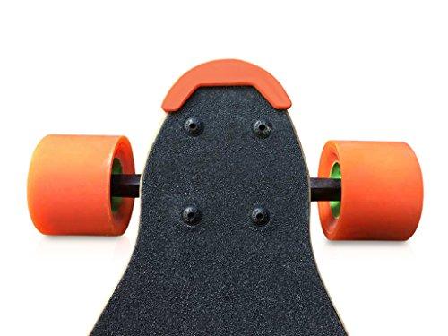 DIYE Skateboard Longboard Nose Guard Tail (2 Stück) für Boosted Board V2 V1 Backfire