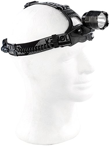 KryoLights Akku Kopflampe: Akku-Stirnlampe SL-1010.c mit Cree-LED, 1.000 Lumen, 10 Watt (Helmlampe)