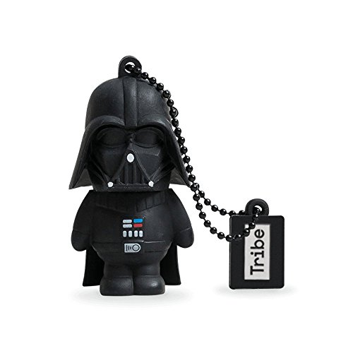 Llave USB 16 GB Darth Vader - Memoria Flash Drive 2.0 Original Star Wars, Tribe FD007501