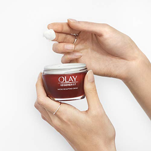 41f06resU4L - Face Moisturizer with Collagen Peptides by Olay Regenerist Micro-Sculpting Cream 1.7 oz, 2 Month Supply