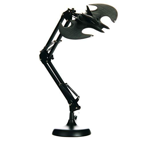 Paladone Lámpara de Escritorio Flexible, Batman, 10 W, Negro