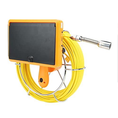 Handheld Endoskop, mit Rostfrei Stahl und Glasfaser 1/3 CMOS Ahd 1080p 1280 x 700 Boreskop Inspektion Kamera Pro Ios
