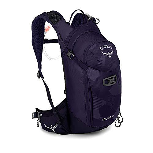 Osprey Salida 12 Trinkrucksack für Frauen, mit Hydraulics™ LT 2,5-Liter-Trinkblase - Violet Pedals (O/S)