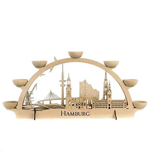 Lichterbogen Hamburg Schwibbogen Kerzenhalter
