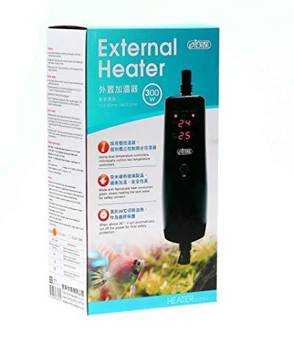 150w/300w/500w in-Line External Heater Aquarium Heater - 150/300/500 WATT 1/2'-5/8' (300 Watt...