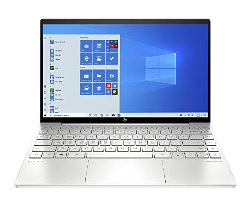 HP Envy 13-ba0010na 13.3-Inch Full HD Touch-screen Laptop (Natural Silver) (Intel Core i7-10510U, 16 GB RAM, 1 TB SSD, NVIDIA GeForce MX350 (2 GB Dedicated Graphics), Windows 10 Home) (Renewed)