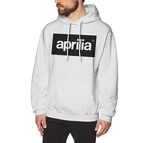 MYHL Men's Aprilia Motorcycles Logo Graphic Fashion Sport Hip Hop Hoodie Sweatshirt Pullover Tops