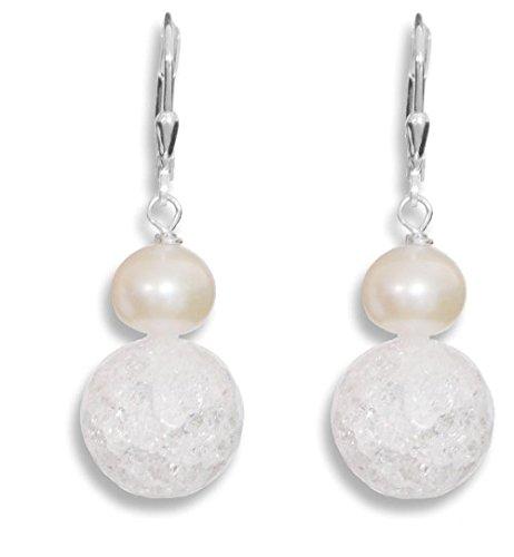 ERCE perlas de agua dulce - cristal...