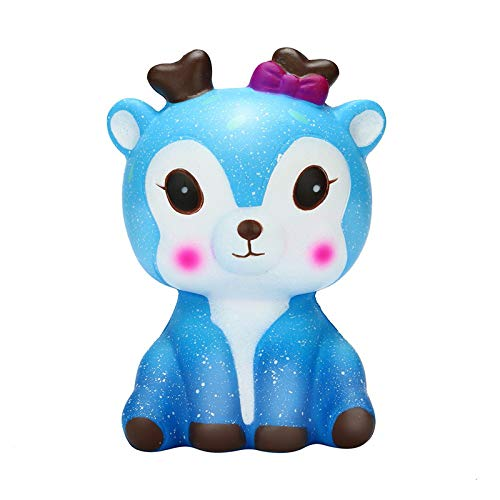 Bumplebee Slow Rising Squishy Kawaii Galaxy Star Deer Cream Scented Toys Stress Relief Toy, Decorative Props