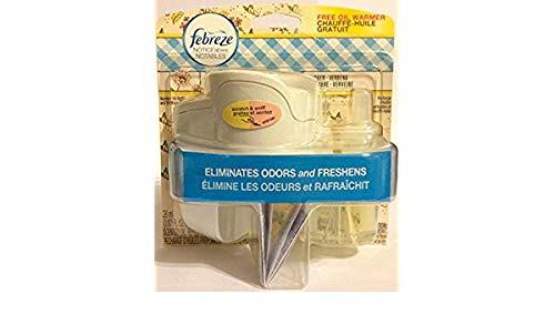 Febreze Noticeables Warmer + Oil Refill Ginger Verbena 2-Pack