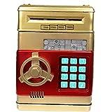 TOSSPER 1pc Monedas Contraseña En Efectivo Caja De Ahorros Creativo Electrónico Hucha Caja De Dinero De Regalo De Cumpleaños para Los Niños