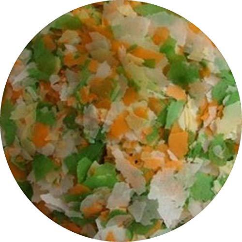 Teichflocke Fischfutter Kaltwasserfische Goldfischflocke Quellflocke Gartenteich (1 kg)