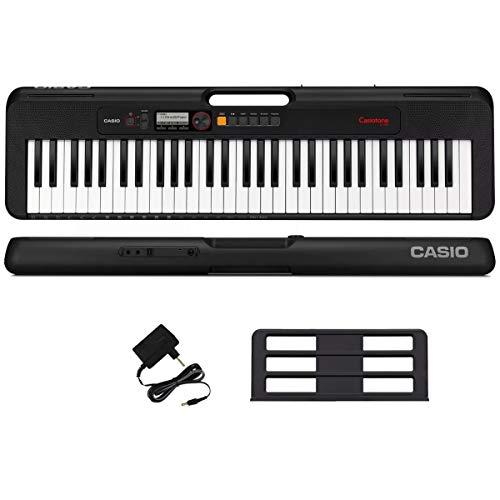 Teclado Musical Casio CT-S195 61 teclas, 400 timbres e 48 notas de polifonia - Bivolt
